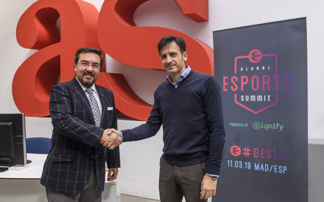 AS Y GLOBAL ESPORTS SUMMIT FIRMAN UN ACUERDO DE COLABORACIÓN