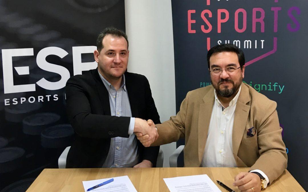 Acuerdo de colaboración entre Esports Bureau y Globlal Esports Summit