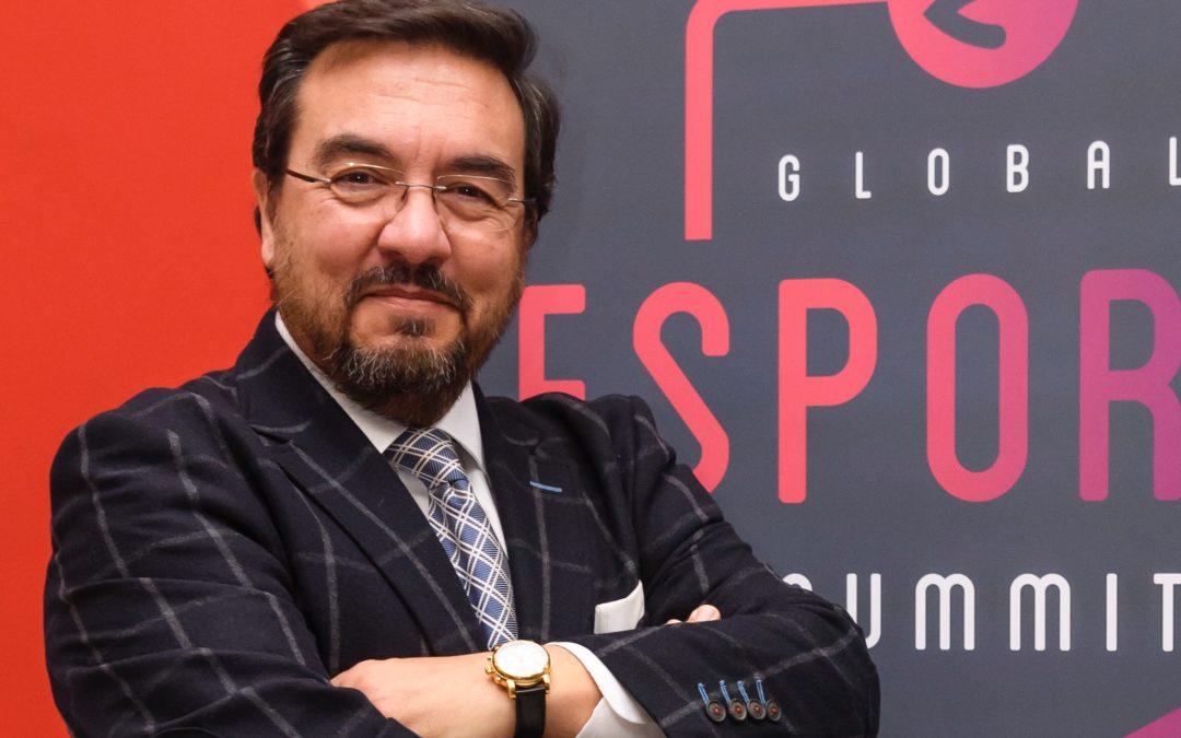 Antonio Lacasa habla con la prensa sobre esports y #GES19
