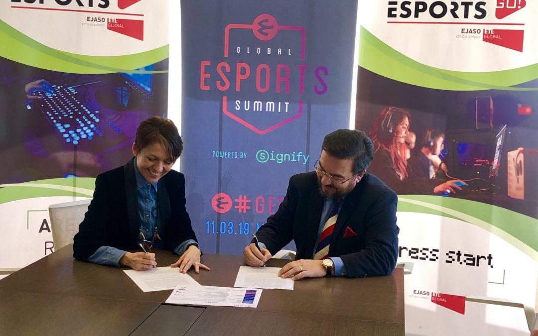 El despacho de abogados EJASO ETL Global y Global Esports Summit firman un acuerdo de colaboración