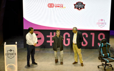 Fundación ONCE elige GES19 para anunciar el lanzamiento de unas becas de esports