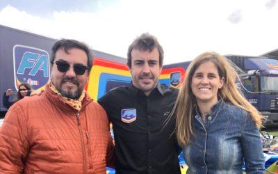 GES con Fernando Alonso y su nuevo equipo FA RACING Logitech G