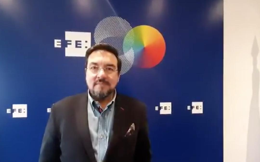 Entrevista de EFE a Antonio Lacasa, director del GES