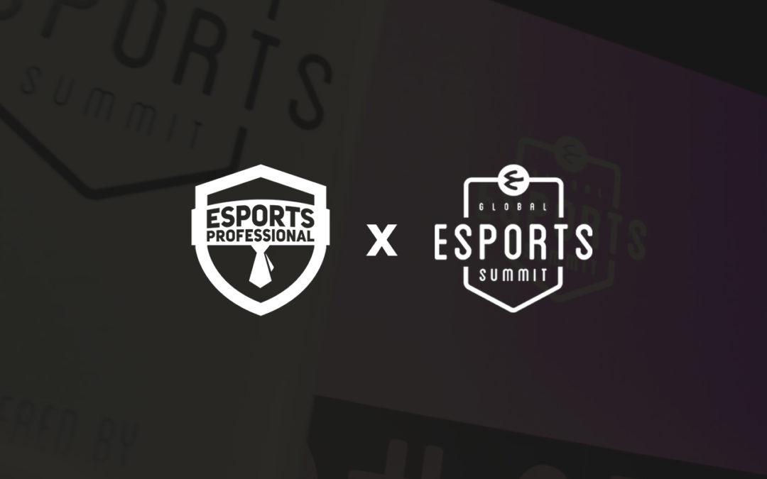 Global Esports Summit será Esports Business Partner de la 5ª Ed. de Esports Professional