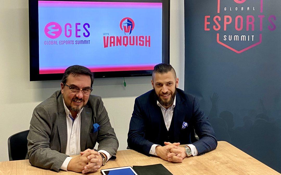 VANQUISH se une a GES20 como Corporate Partner