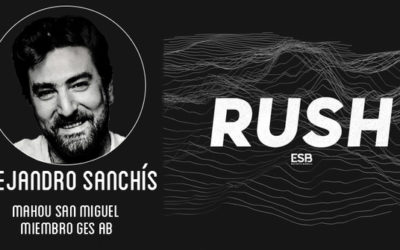 Alejandro Sanchís, consultor esports de Mahou San Miguel y miembro del GES Advisory Board, invitado del RUSH Podcast de Esports Bureau