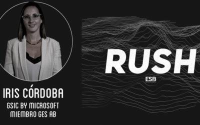 Iris Córdoba comenta en el RUSH Podcast sobre el informe del sector esports presentado GSIC y GES