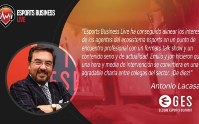 Esports Business Live abre su segunda temporada con GES