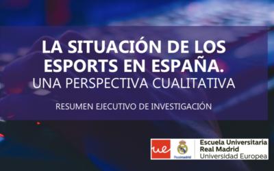 """GES colabora en el estudio """"La situación de los esports en España"""""""