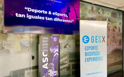 GES y ASOBU congregan al mundo del deporte y los eSports en el primer GES X del año
