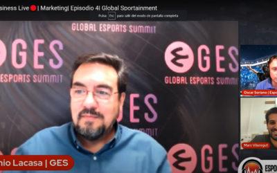 Antonio Lacasa, en Esports Business Live