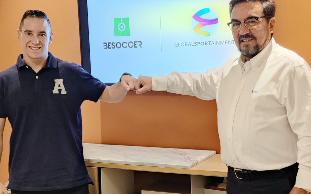 BeSoccer refuerza su alianza con Global Sportainment